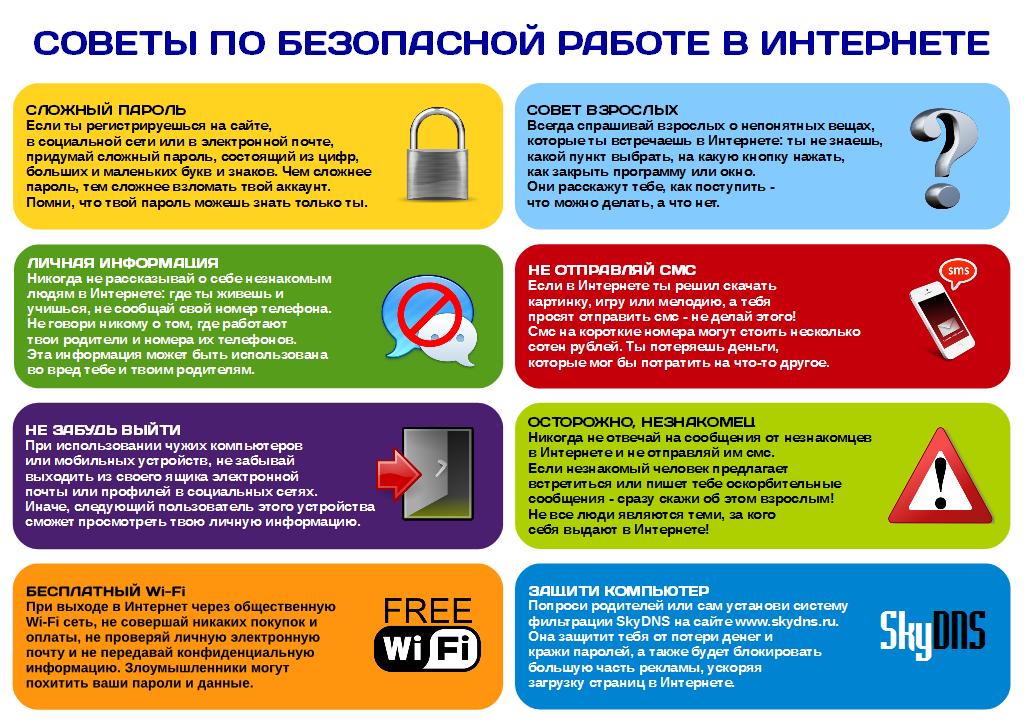безопасный интернет для школьников особенно развита